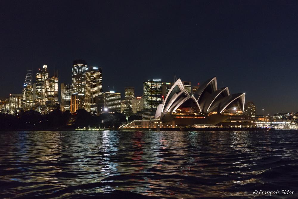 Sydney by night and opera
