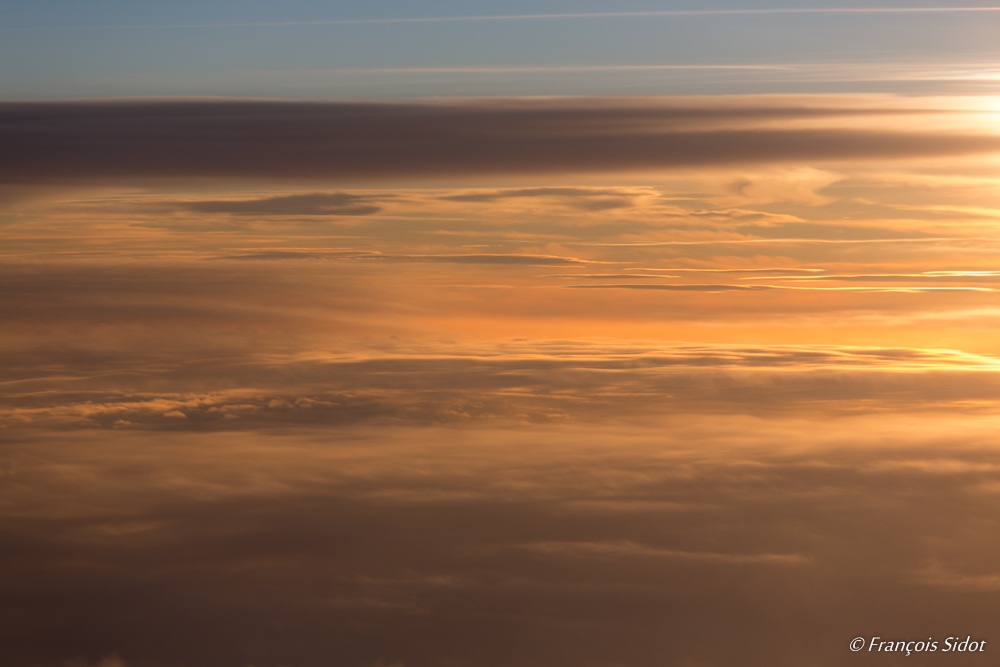Sunset in the clouds 1