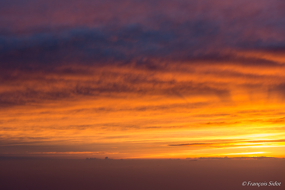 Sunset in the clouds 3