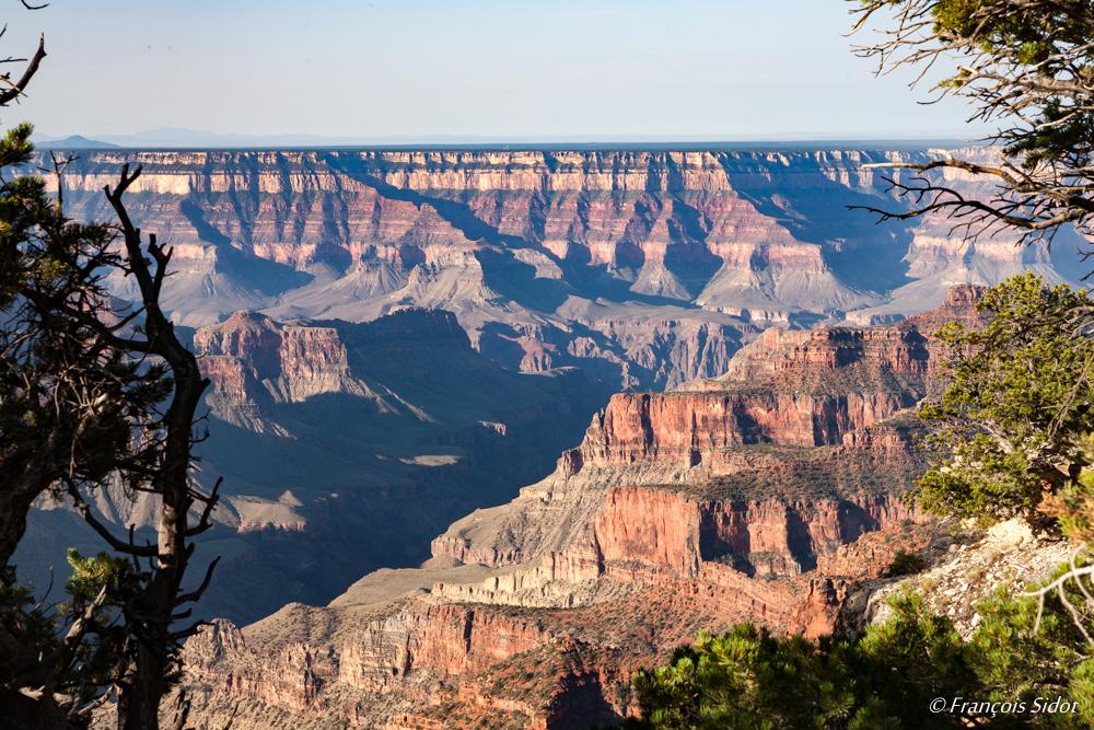 Grand Canyon, vue depuis la rive nord