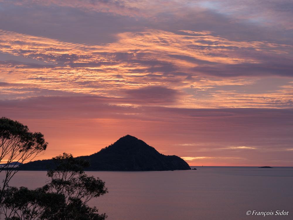 Lever de soleil - côte Est de l'Australie - NSW