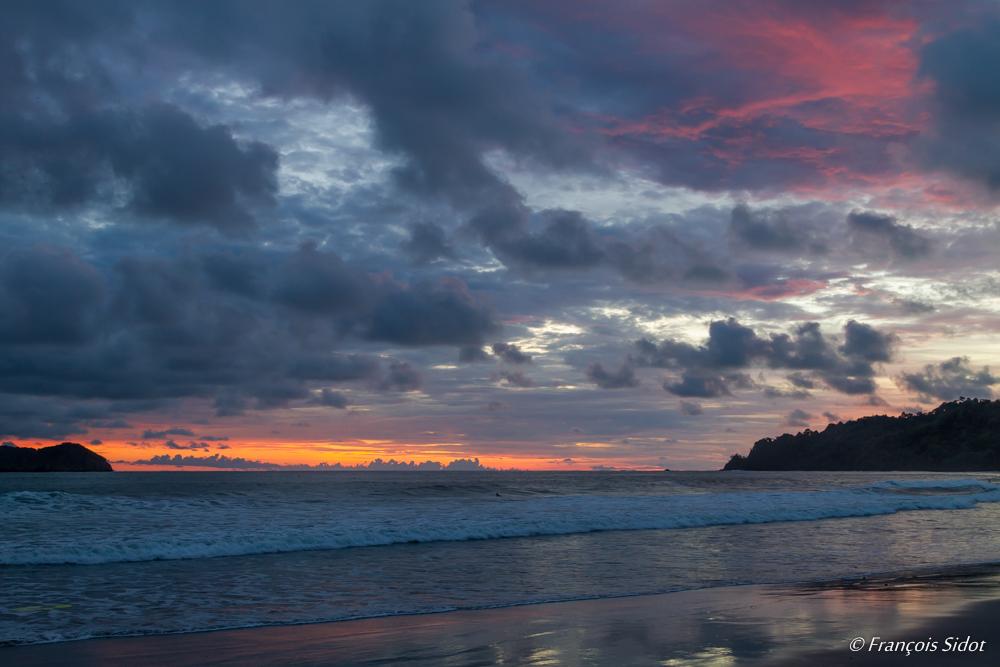 Couché de soleil  (Nord Ouest Costa Rica)